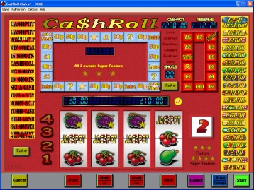 CashRoll Club Fruit Machine 1.03b
